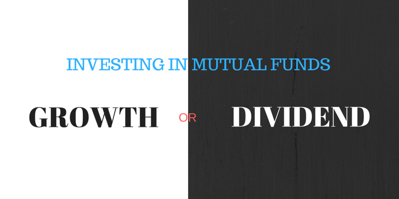 MUTUAL FUND TAXATION - GROWTH OR DIVIDEND OPTION